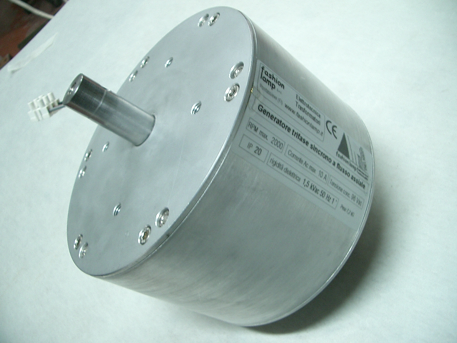 AXIAL FLUX GENERATORS/MOTORS